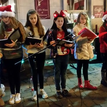 Students Christmas Carols